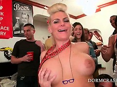Busty pornstar riding...